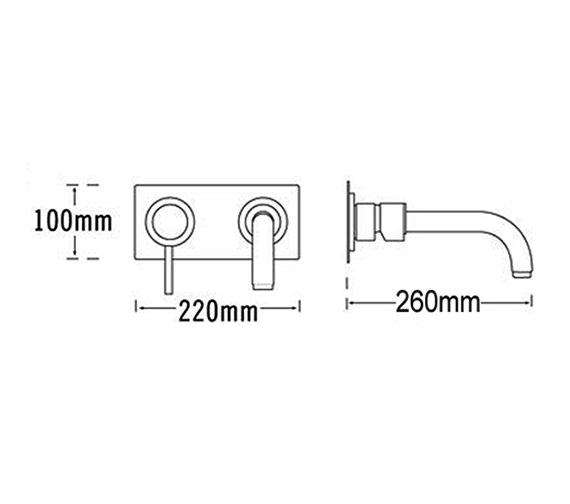 Technical drawing QS-V31573 / 63335