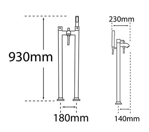 Technical drawing QS-V31577 / 63356