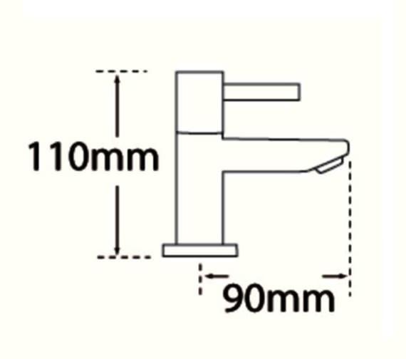 Technical drawing QS-V31581 / 44010