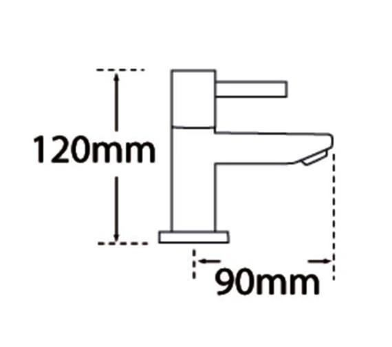 Technical drawing QS-V31582 / 44020