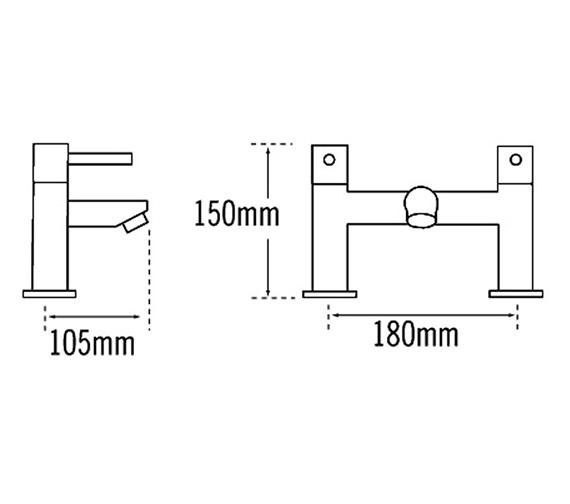 Technical drawing QS-V31585 / 44040