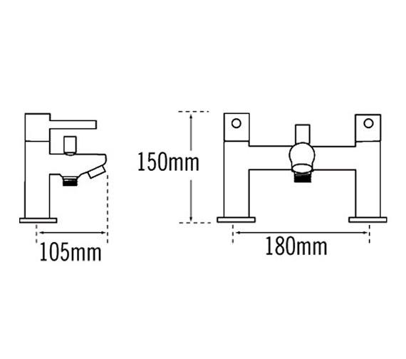 Technical drawing QS-V31586 / 44055