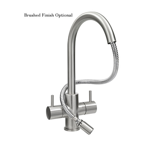 Additional image of Astracast Shannon Monobloc Pull-Out Spray Kitchen Sink Mixer Tap
