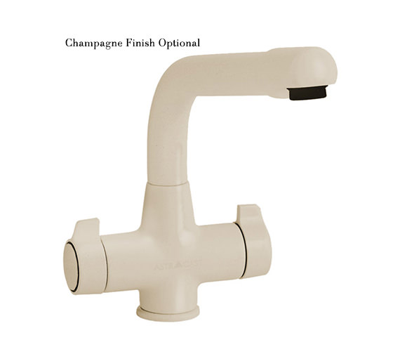 Additional image of Astracast Targa Monobloc Twin Handle Kitchen Sink Mixer Tap