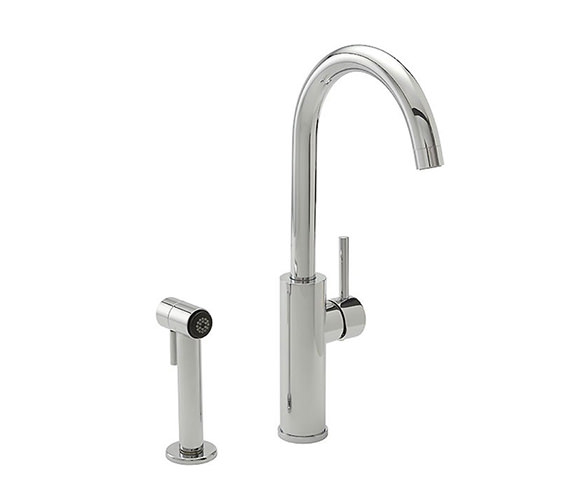 Tre Mercati Nelly 2 Hole Side Spray Sink Mixer Tap Chrome - 94020
