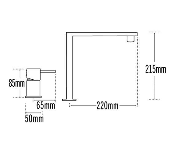 Technical drawing QS-V31650 / 92011