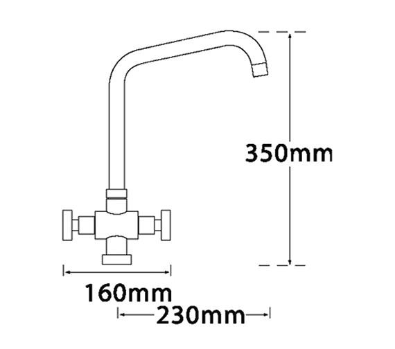 Technical drawing QS-V31653 / 67120