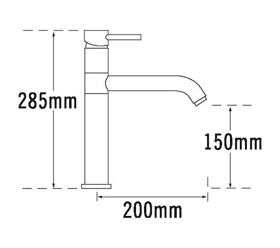 Technical drawing QS-V31654 / 63110