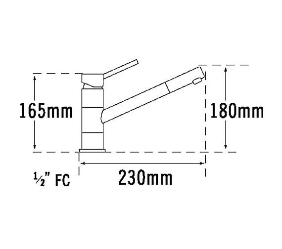 Technical drawing QS-V31659 / 27110