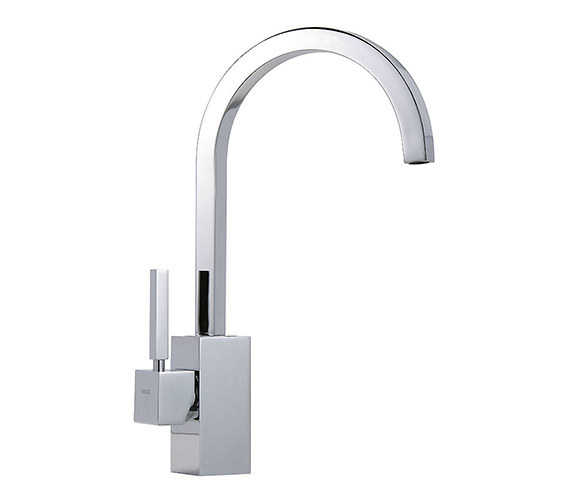 Tre Mercati Domino Mono Sink Mixer Tap Chrome - Domino-093