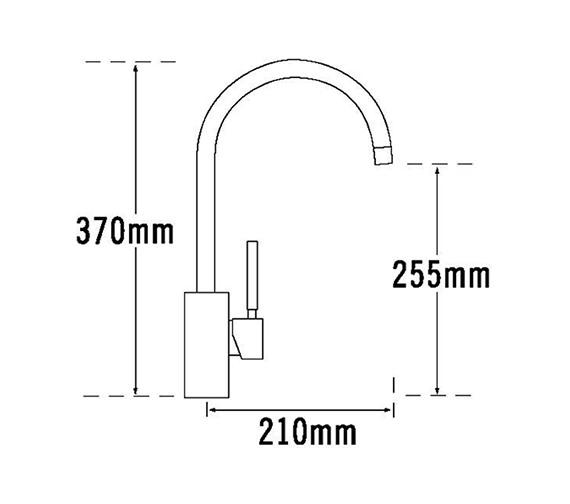 Technical drawing QS-V31661 / Domino-093