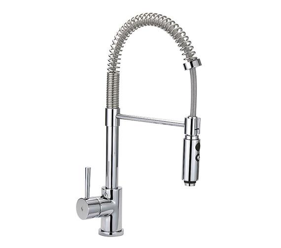 Tre Mercati Cappuccino Professional Mono Sink Mixer Tap Chrome