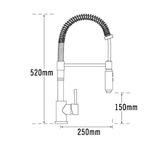 Technical drawing QS-V31663 / Evo-091