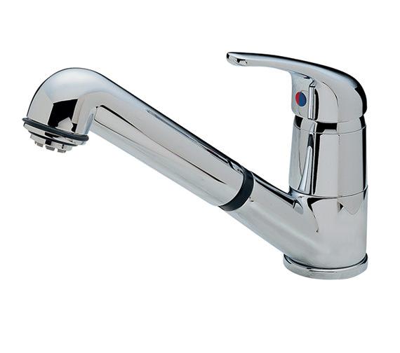 Tre Mercati Modena Standard Dual Flow Mono Sink Mixer Tap Chrome - 173