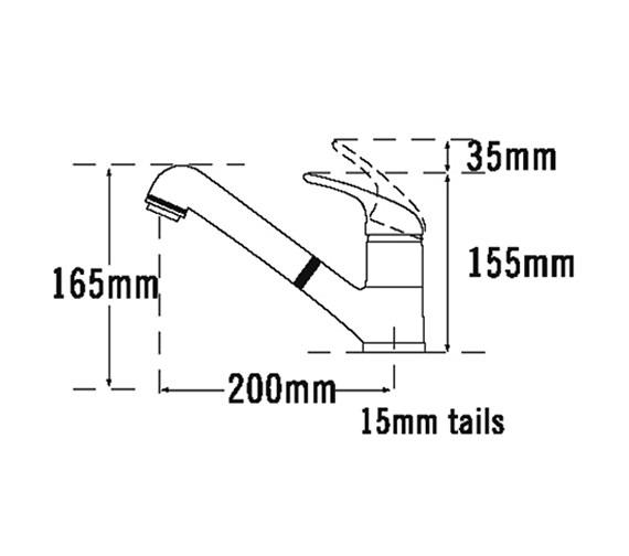 Technical drawing QS-V31673 / 173