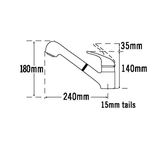 Technical drawing QS-V31674 / 174