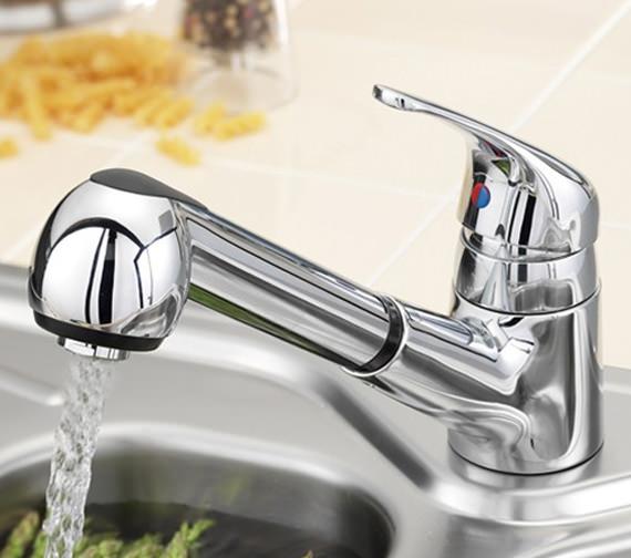 Tre Mercati Modena Deluxe Dual Flow Mono Sink Mixer Tap