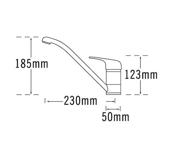 Technical drawing QS-V31675 / 175