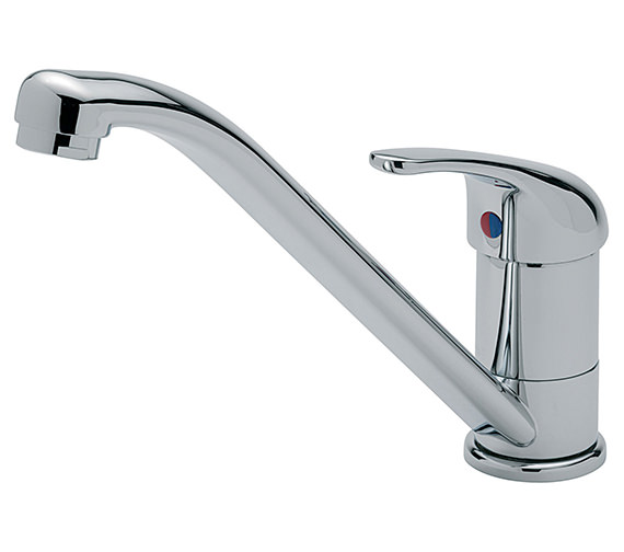 Tre Mercati Luna Chrome Mono Sink Mixer Tap - 169