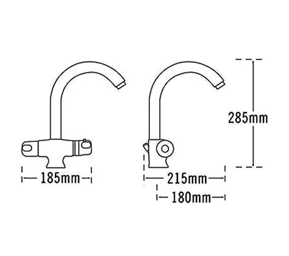 Technical drawing QS-V31679 / 31020