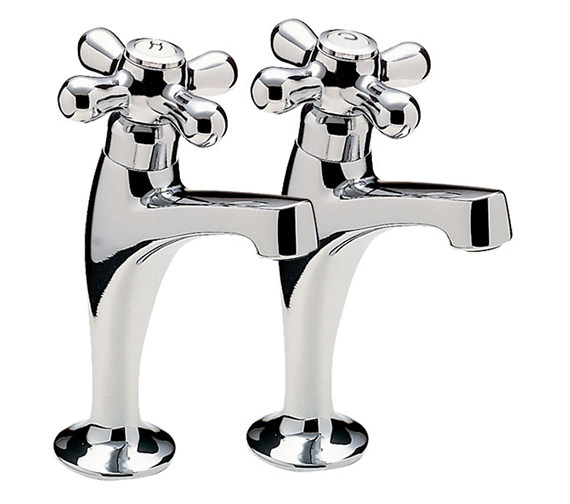 Tre Mercati Series 900 Crosshead High Neck Pillar Taps - 573
