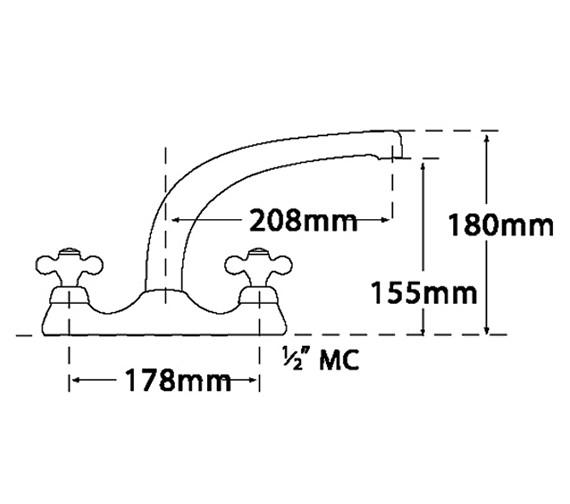 Technical drawing QS-V31682 / 579