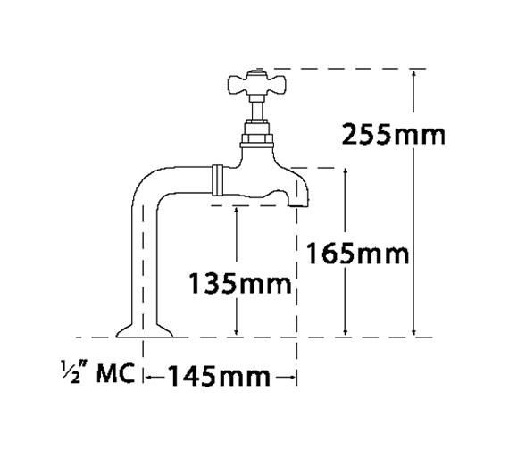 Technical drawing QS-V31693 / 1067A