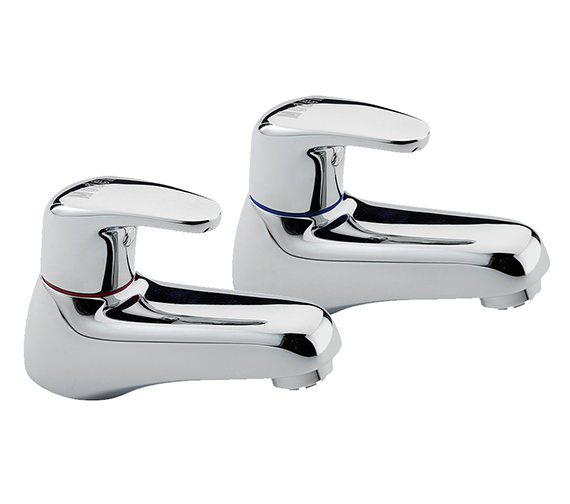 Tre Mercati Modena Pair Of Bath Tap Chrome - 95020