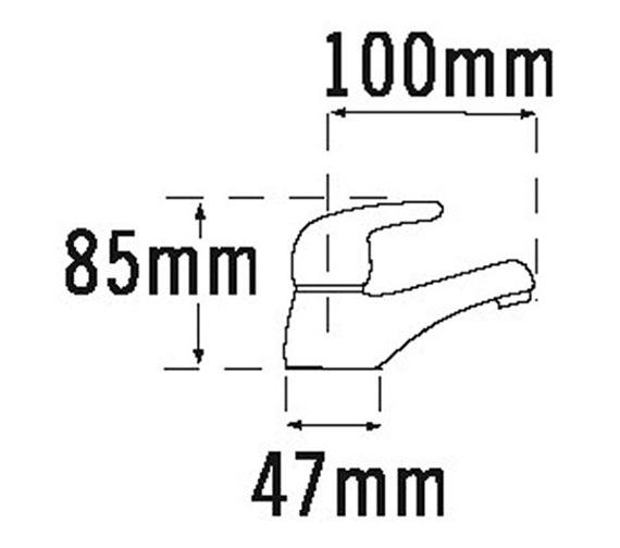 Technical drawing QS-V31703 / 95020