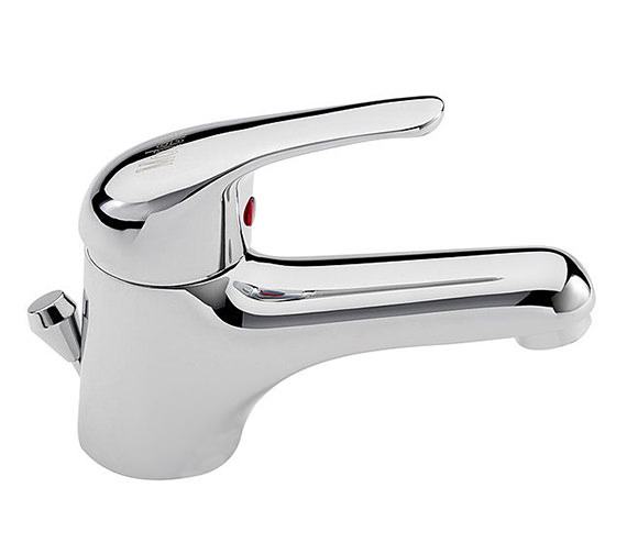 Tre Mercati Modena Deluxe Mono Basin Mixer Tap And Pop Up Waste Chrome