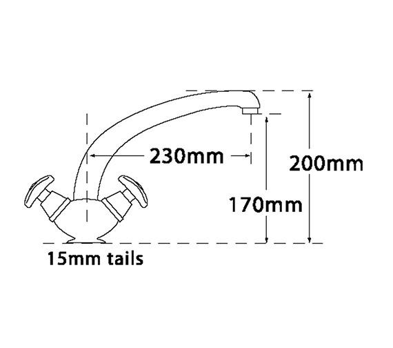Technical drawing QS-V31708 / 3655