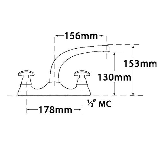 Technical drawing QS-V31709 / 3625