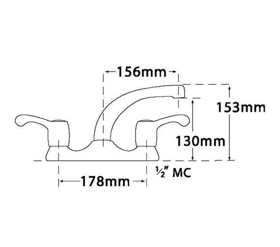 Technical drawing QS-V31712 / 3623