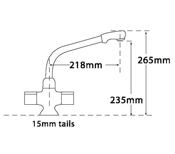 Technical drawing QS-V31714 / 247