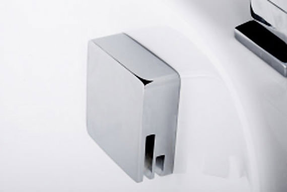 Tre Mercati Square Automatic Filler With Clicker Waste - 708B