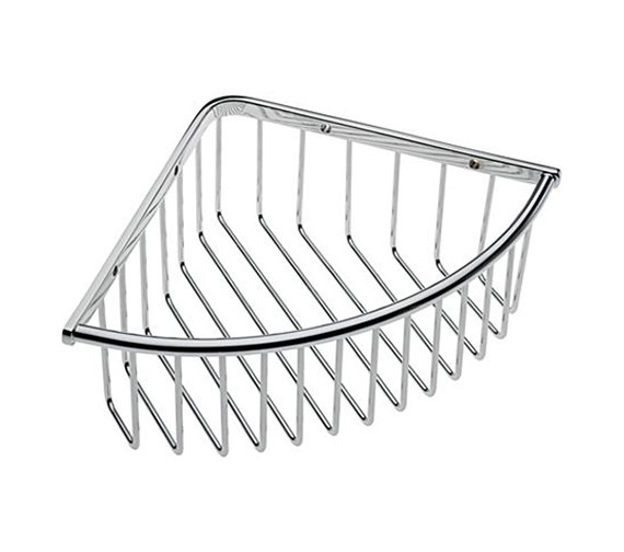 Tre Mercati Wall Mounted Deep Triangular Corner Basket - 66420