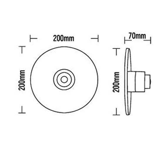 Technical drawing QS-V31843 / 50080