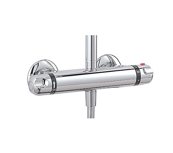 Tre Mercati Exposed Thermostatic Double Ended Shower Valve - 975A