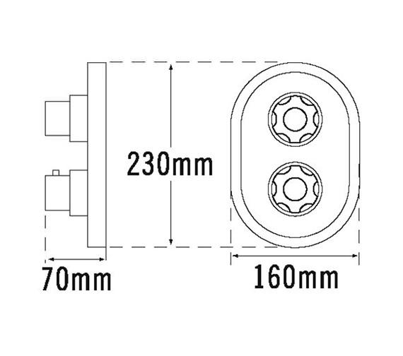 Technical drawing QS-V31941 / 968