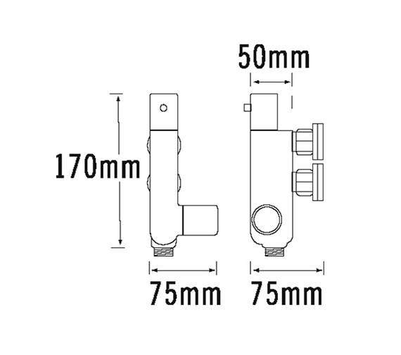 Technical drawing QS-V31944 / 364