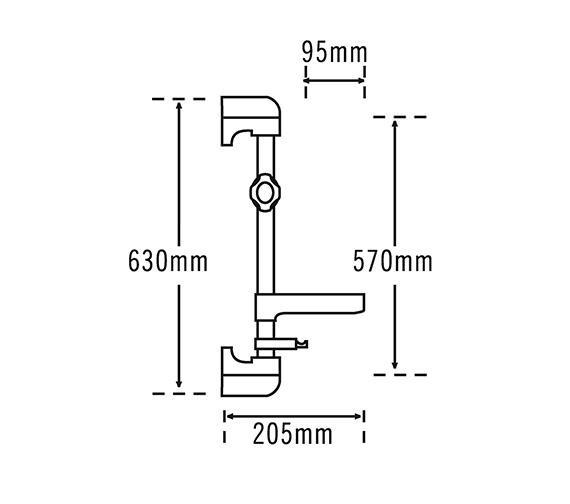 Technical drawing QS-V31960 / 814C