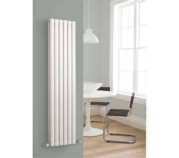Additional image of Hudson Reed Revive Double Panel White Radiator 354x1800mm - HL326