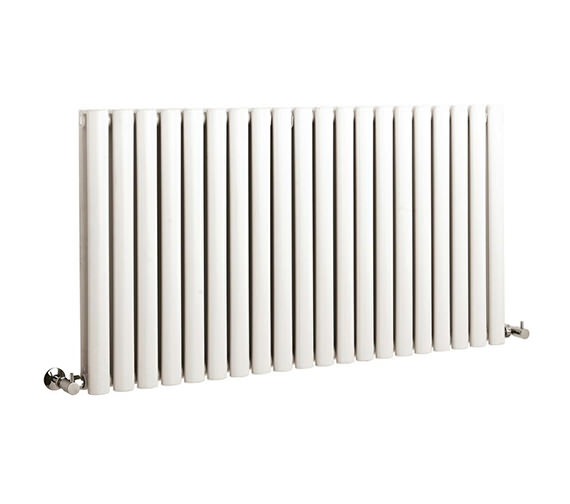 Hudson Reed Revive Double Panel Large White Radiator - HL329