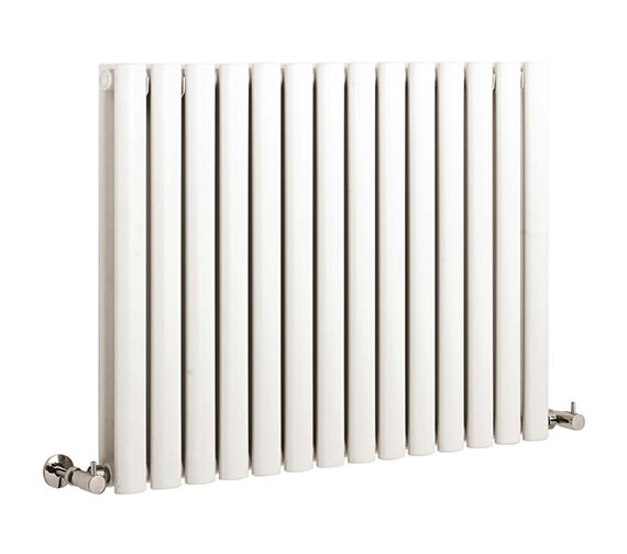 Hudson Reed Revive Double Panel Small White Radiator - HL328