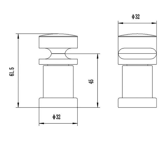 Technical drawing QS-V31975 / HL220