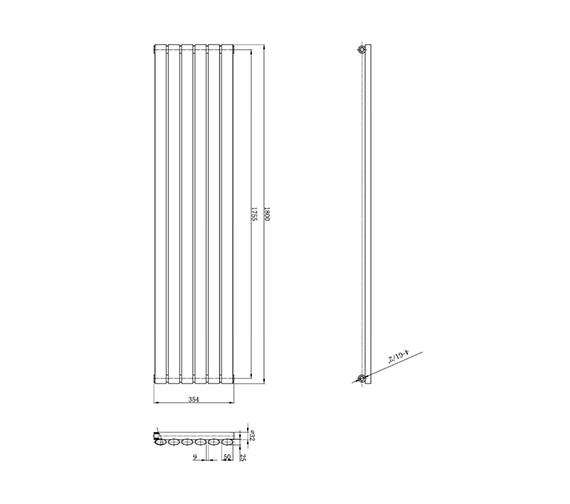 Technical drawing QS-V31978 / HL323