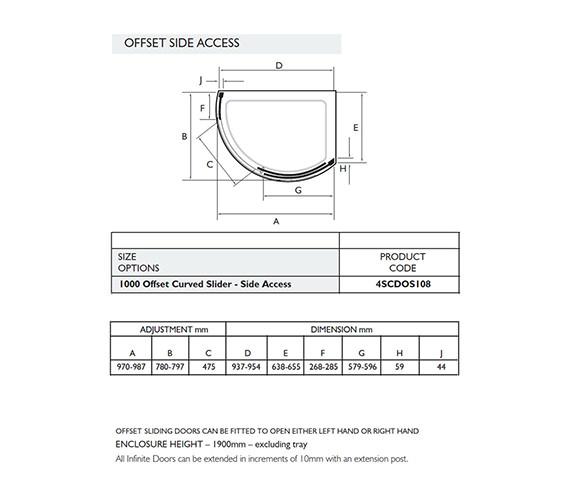 Technical drawing QS-V32008 / 4SCDOS108S