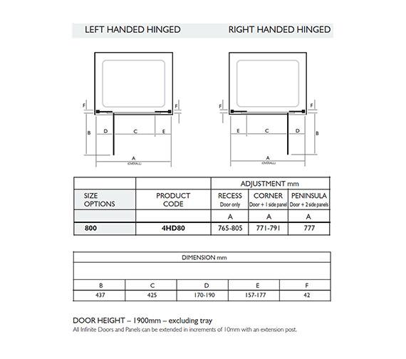 Technical drawing QS-V32017 / 4HD80LHS