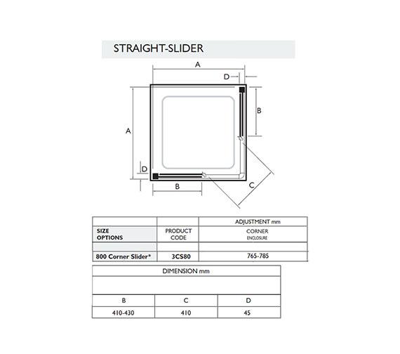 Technical drawing QS-V32039 / 3CS80W