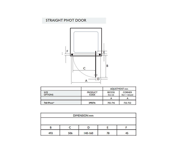 Technical drawing QS-V32040 / 3PD76W